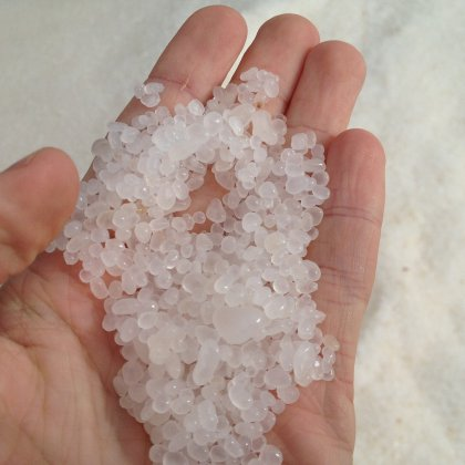 Epsom salt for body peeling