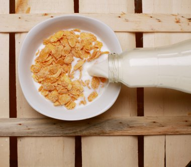 flakes with milk