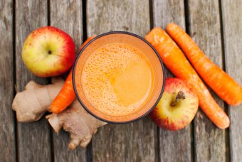 fresh juices for acne