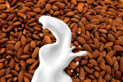 Health effects of almond milk