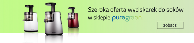 Offer of squeezers in the Puregreen store